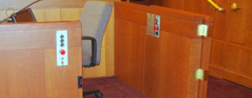 The Latest in Courtroom Accessibility