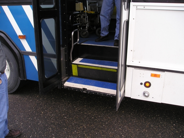 Lift-U Model LU12 Stowed in Step Position