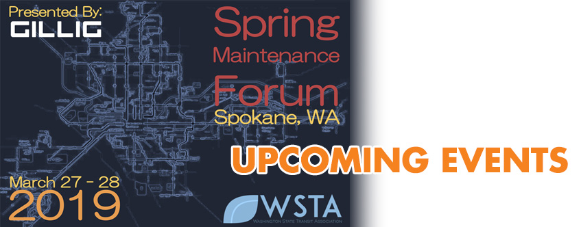 2019 Spring Maintenance Forum